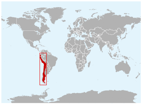 (Culpeo range map)